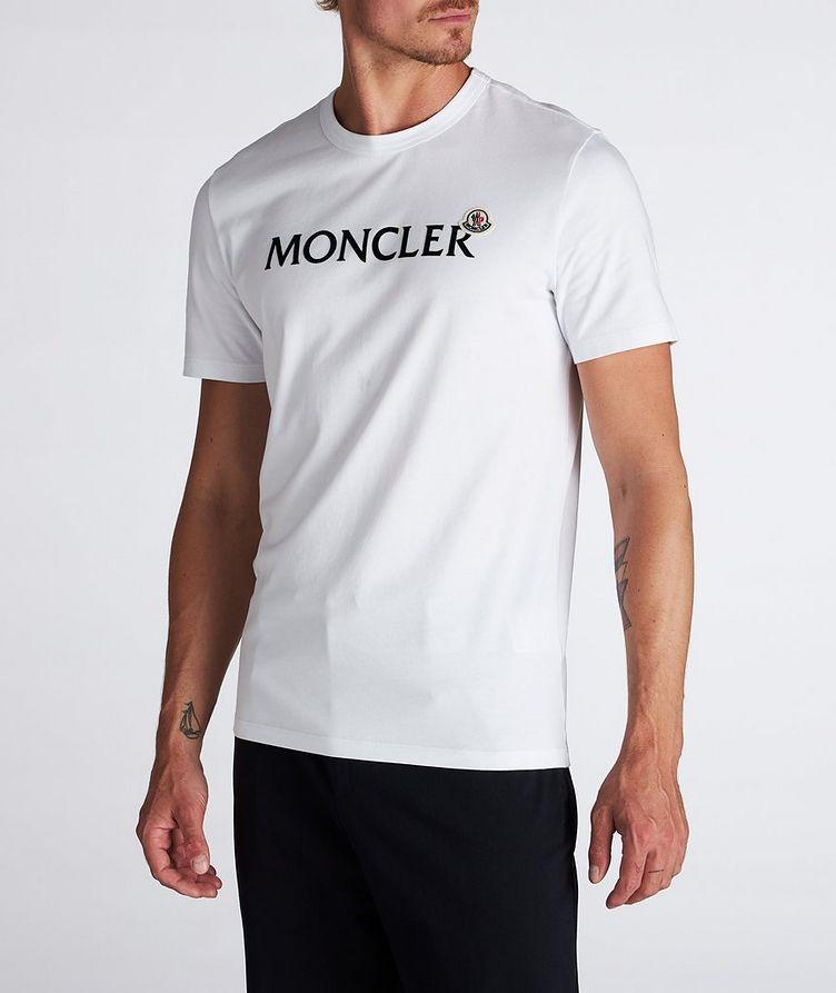 Text Logo Cotton T-Shirt  image 0