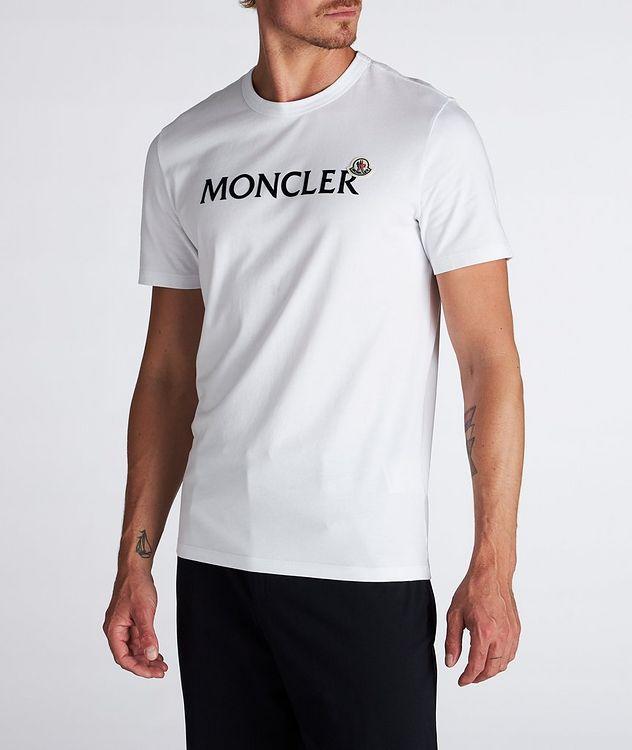 Text Logo Cotton T-Shirt  picture 1