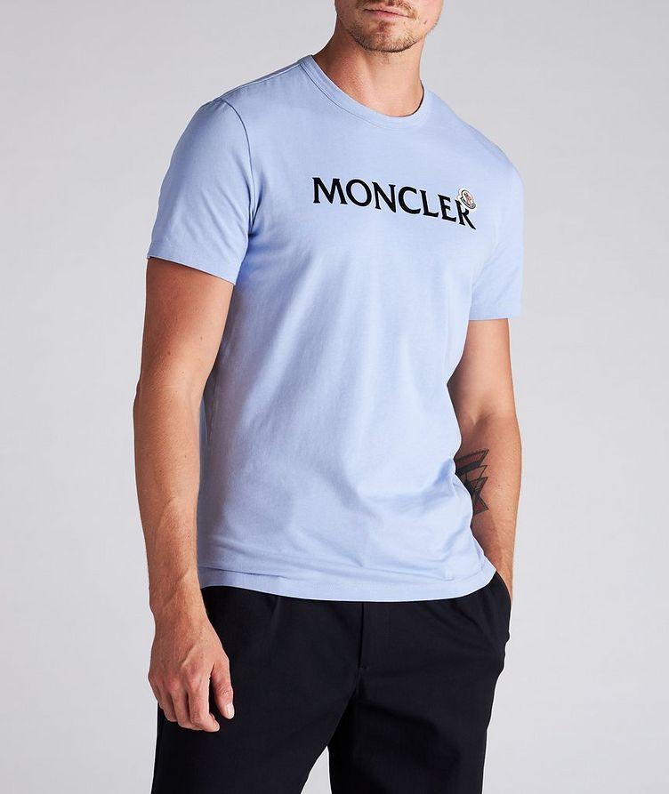 Text Logo Cotton T-Shirt image 1