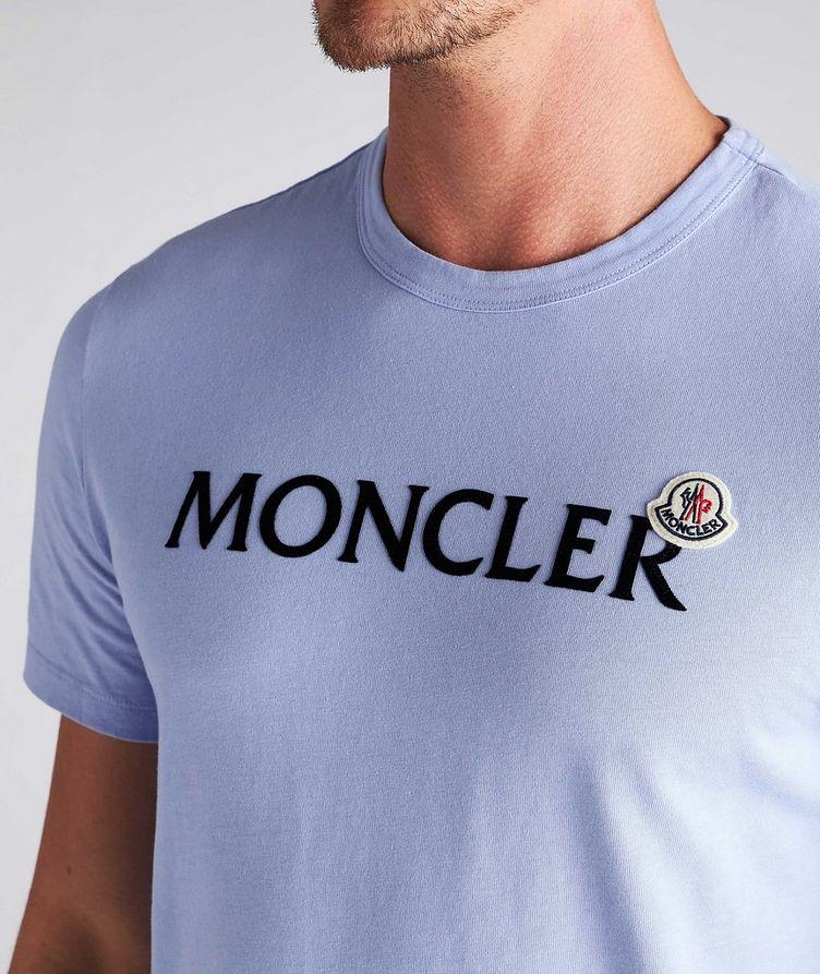 Text Logo Cotton T-Shirt image 3