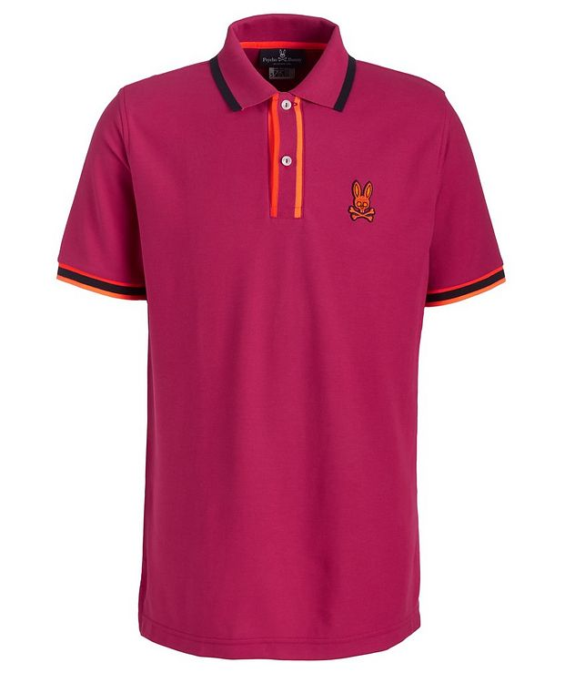 Corby Twill Logo Polo picture 1