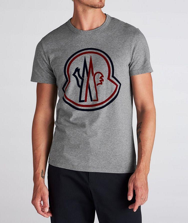 T-shirt en coton avec logo image 1