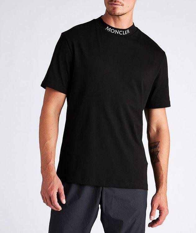 T-shirt en coton à col montant picture 2