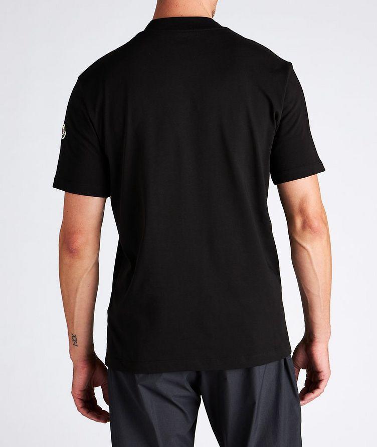 T-shirt en coton à col montant image 2