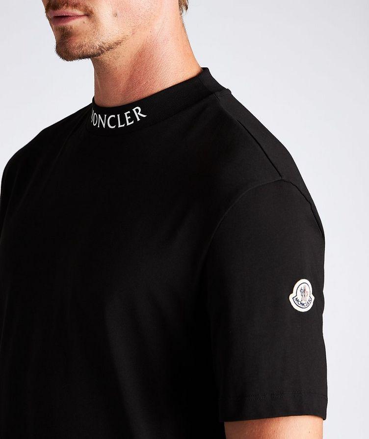 T-shirt en coton à col montant image 3