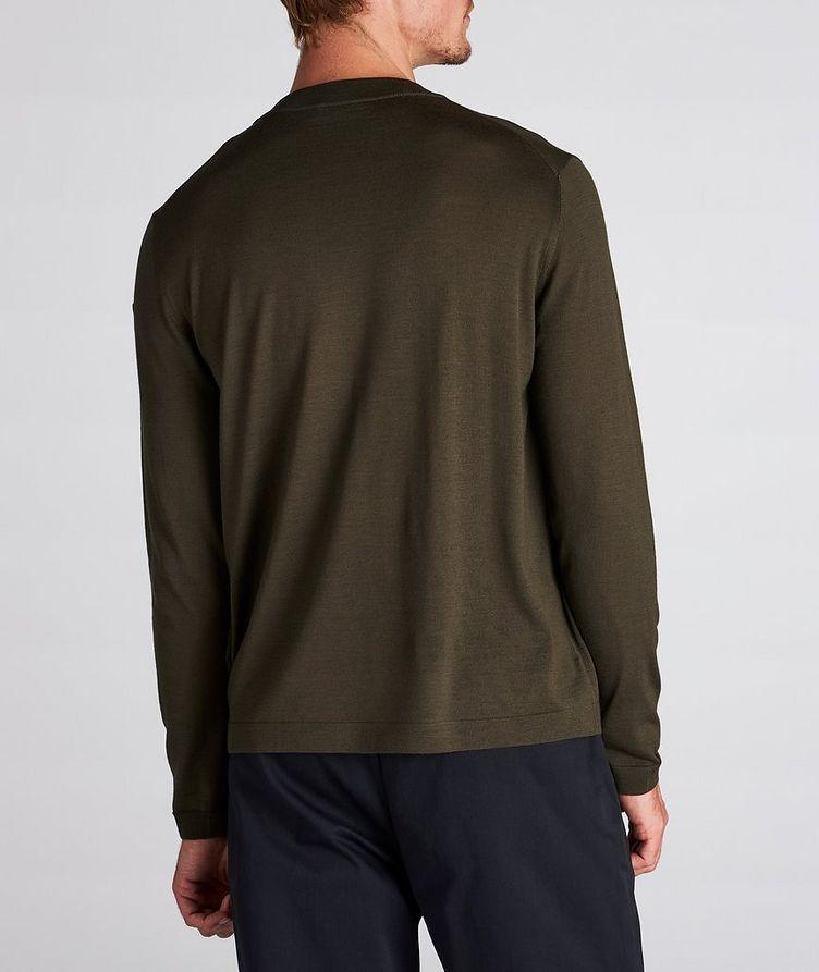 Wool Crew Neck Sweater image 2