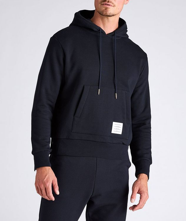 Back Stripe Cotton Hoodie picture 2