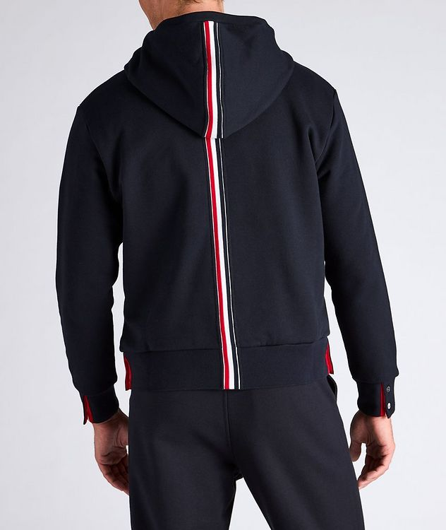 Back Stripe Cotton Hoodie picture 3