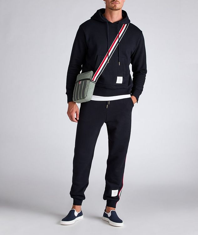 Back Stripe Cotton Hoodie picture 5