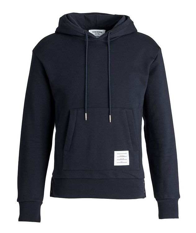 Back Stripe Cotton Hoodie picture 1