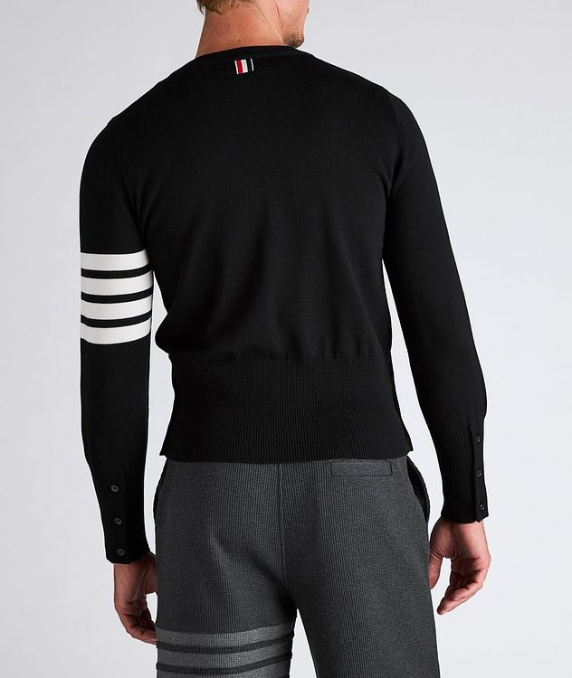 Mr. Thom Icon Four-Bar Stripe Wool Sweater picture 3