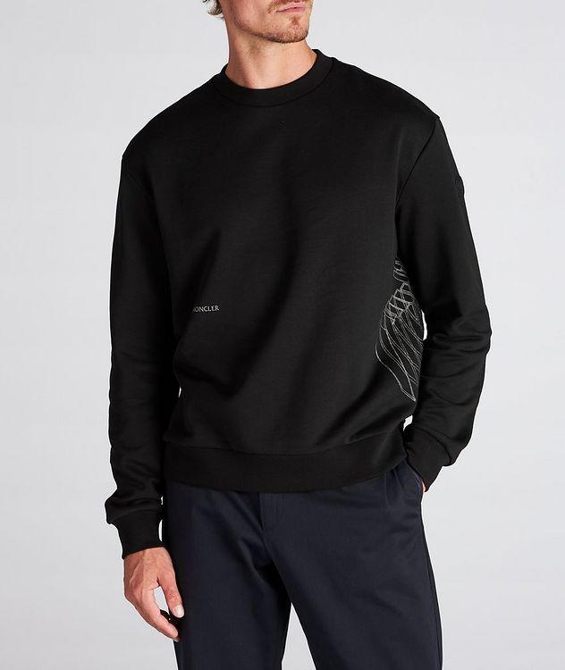 Geometric Crew Neck Sweater picture 2