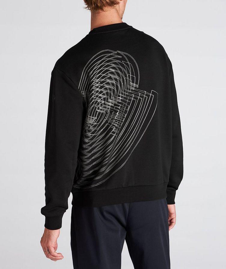 Geometric Crew Neck Sweater image 2