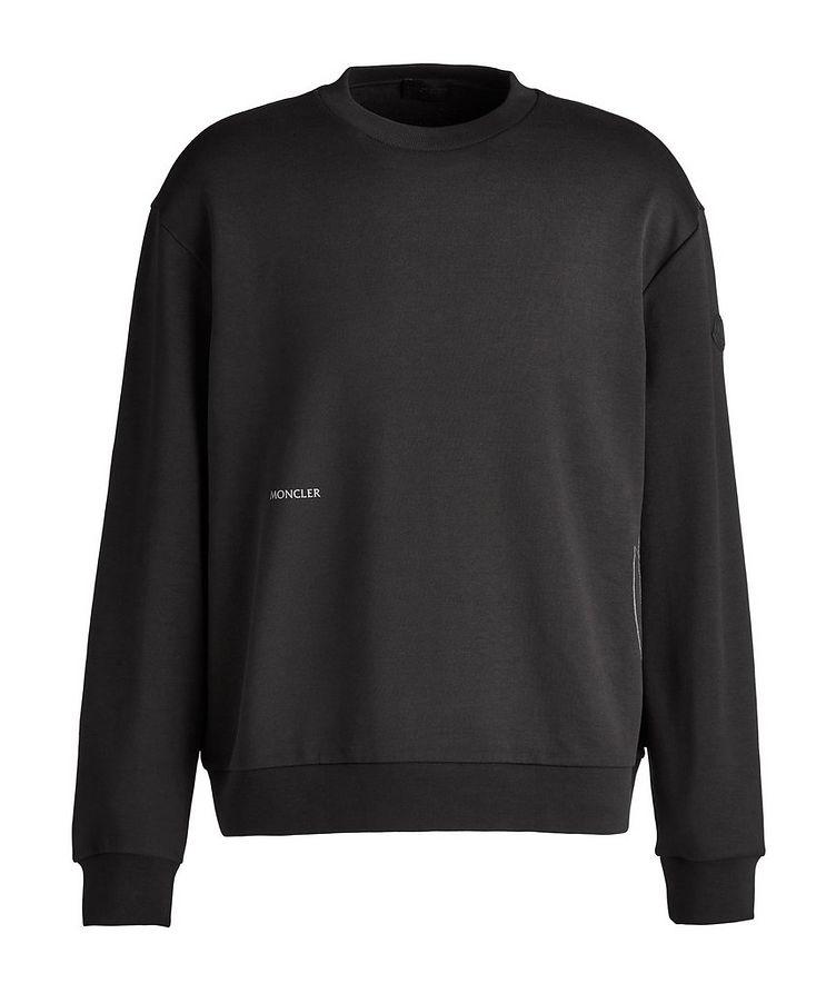 Geometric Crew Neck Sweater image 0