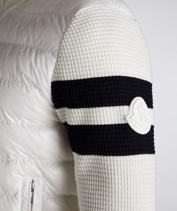 Quilted Down Cardigan Jacket  image 3