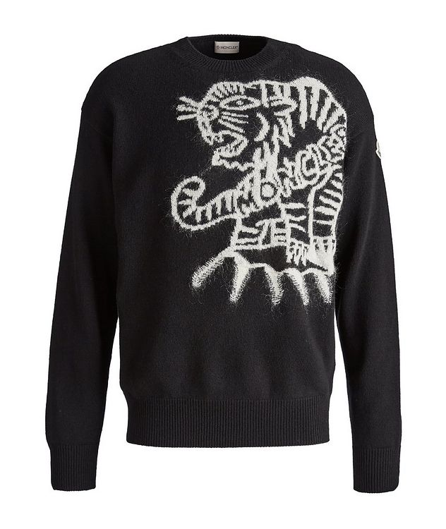 Tiger-Print Wool Sweater picture 1