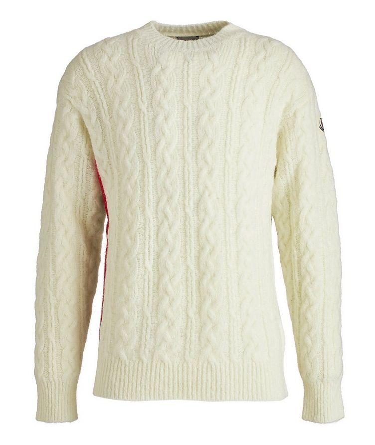 Girocollo Tricot Wool-Blend Sweater image 0