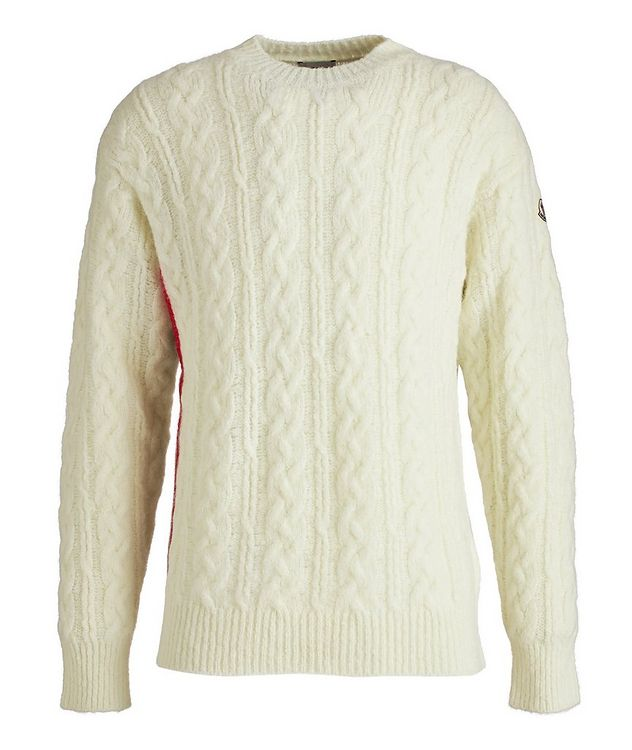Girocollo Tricot Wool-Blend Sweater picture 1