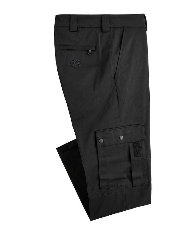 Stretch-Cotton Cargo Pants picture 1