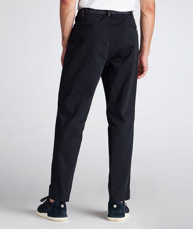 Pantalon en coton extensible à cordon picture 3