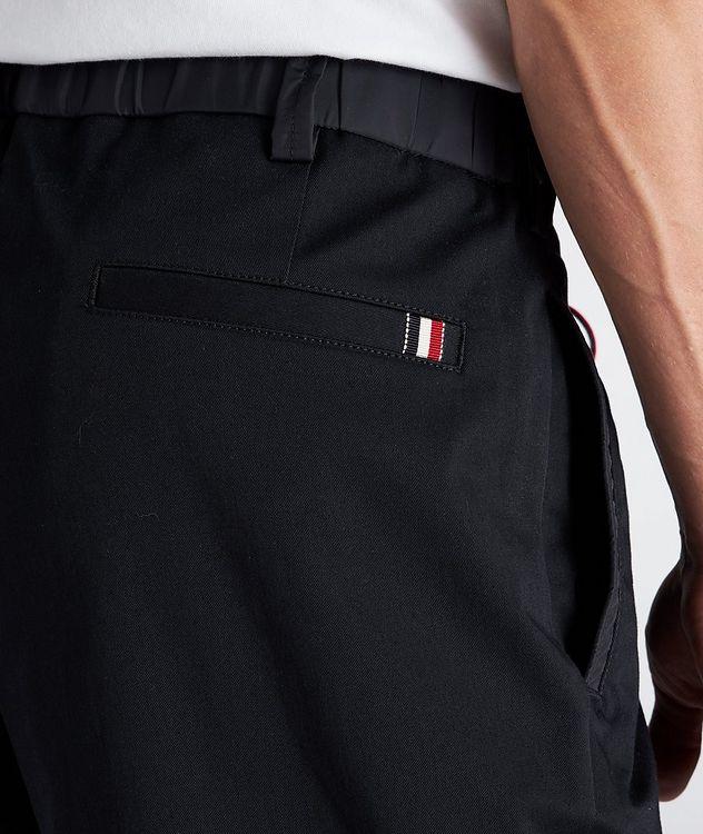 Pantalon en coton extensible à cordon picture 5