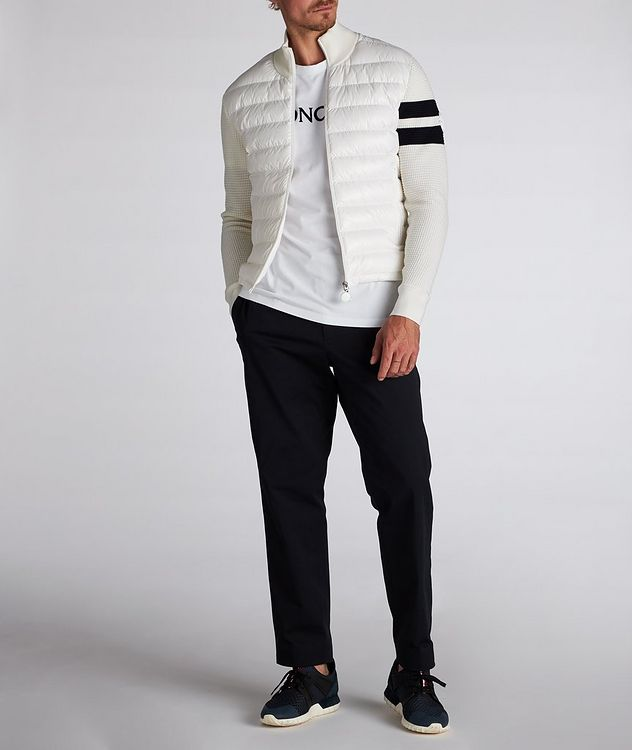 Pantalon en coton extensible à cordon picture 6