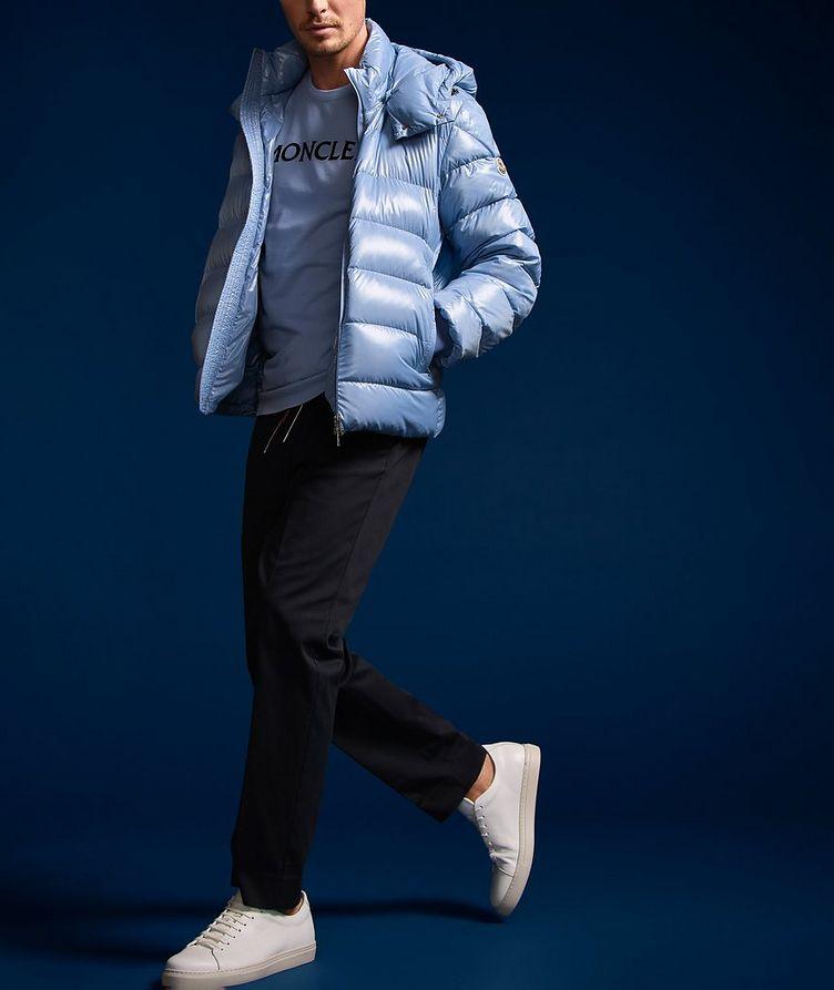 Manteau Cuvellier en duvet surpiqué image 4