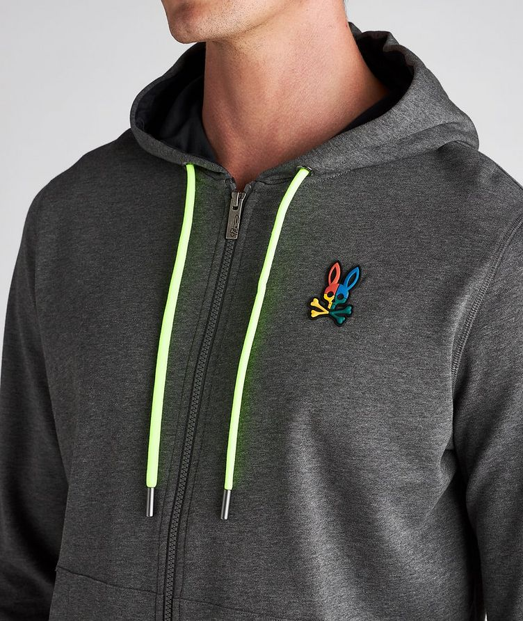 Warwick Logo Cotton Hoodie image 3