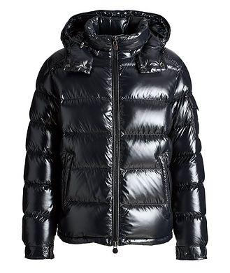 Moncler Maya Hooded Down Puffer Jacket