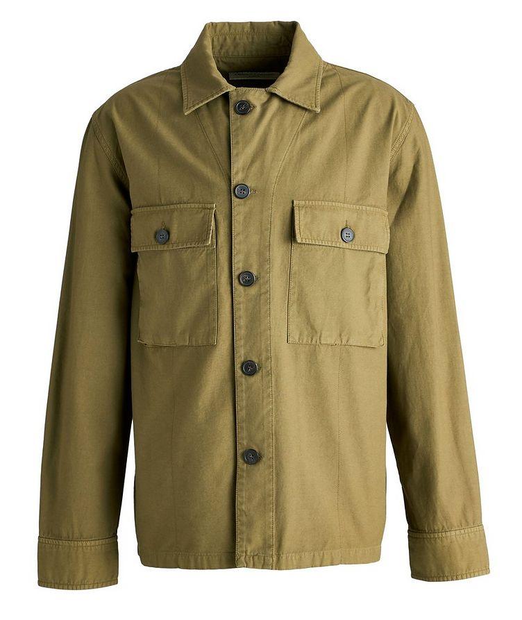 Swan Cotton Overshirt Jacket image 0
