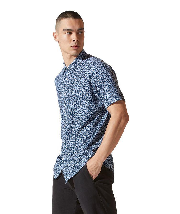 On-Point Short-Sleeve Cotton-Blend Shirt image 1