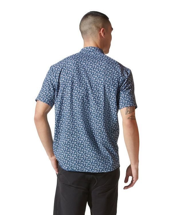 On-Point Short-Sleeve Cotton-Blend Shirt picture 3
