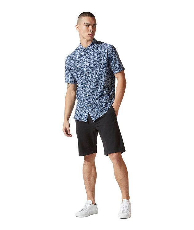 On-Point Short-Sleeve Cotton-Blend Shirt picture 4