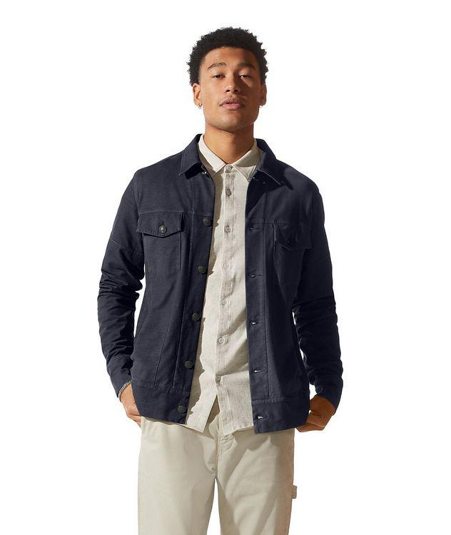 Jean Cotton-Blend Jacket picture 1