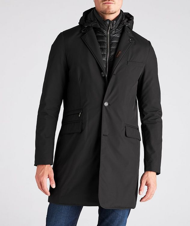 Redon Hooded Down Coat picture 2