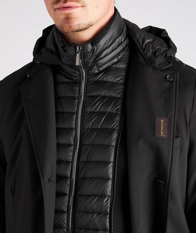Redon Hooded Down Coat picture 4