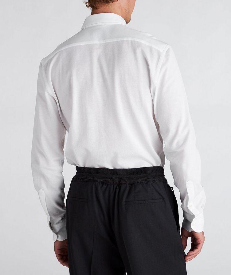 Slim-Fit Piqué Cotton Shirt image 2