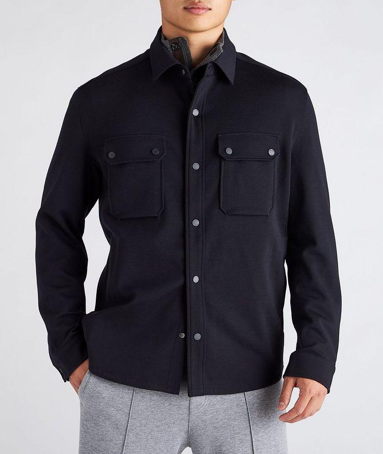 High Performance Wool Overshirt image 1