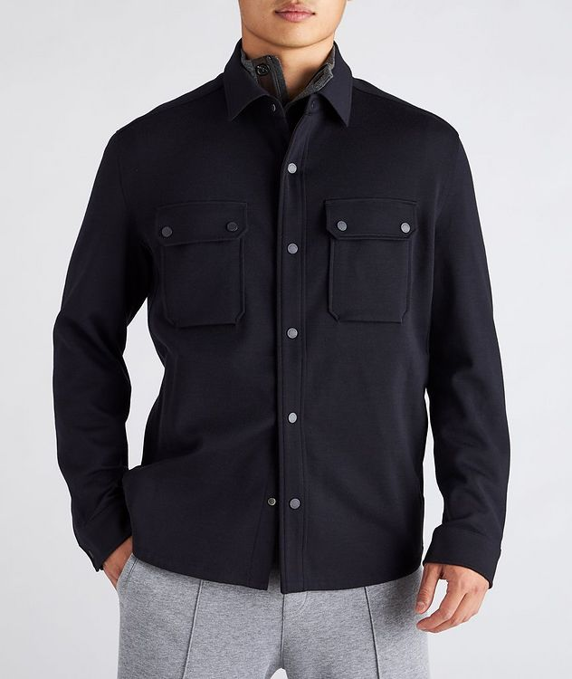 High Performance Wool Overshirt picture 2