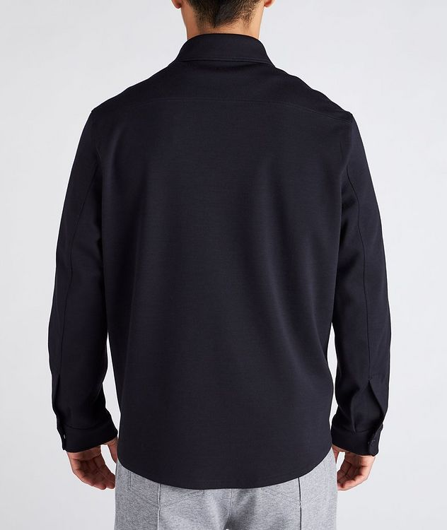 High Performance Wool Overshirt picture 3