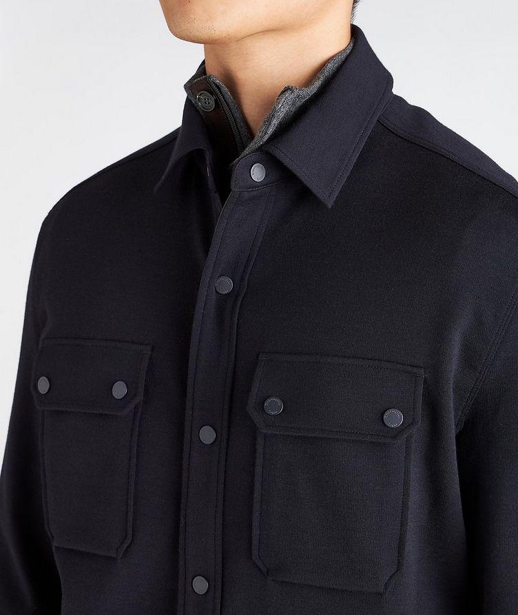 High Performance Wool Overshirt image 3