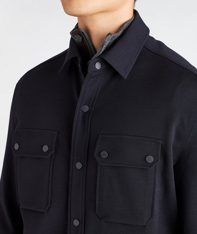 High Performance Wool Overshirt picture 4