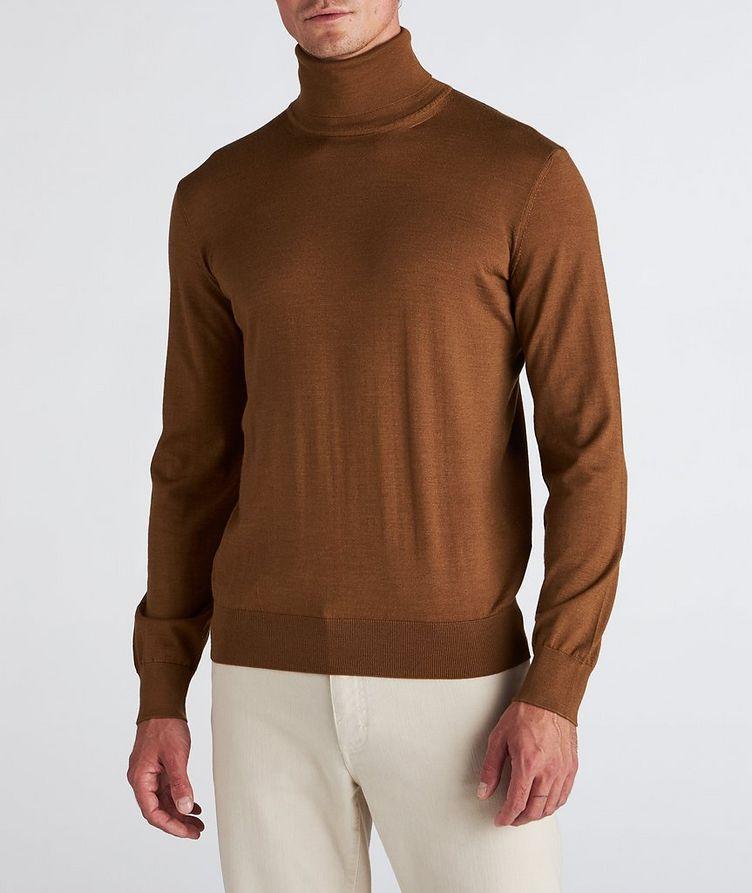 Cashmere-Silk Turtleneck image 1