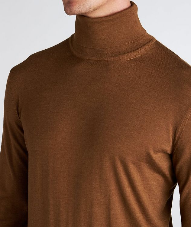 Cashmere-Silk Turtleneck picture 4