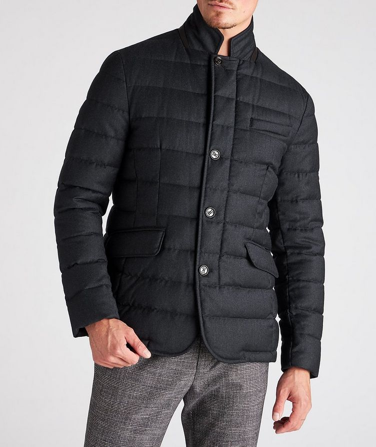 Zayn Wool-Cashmere Down Jacket image 1