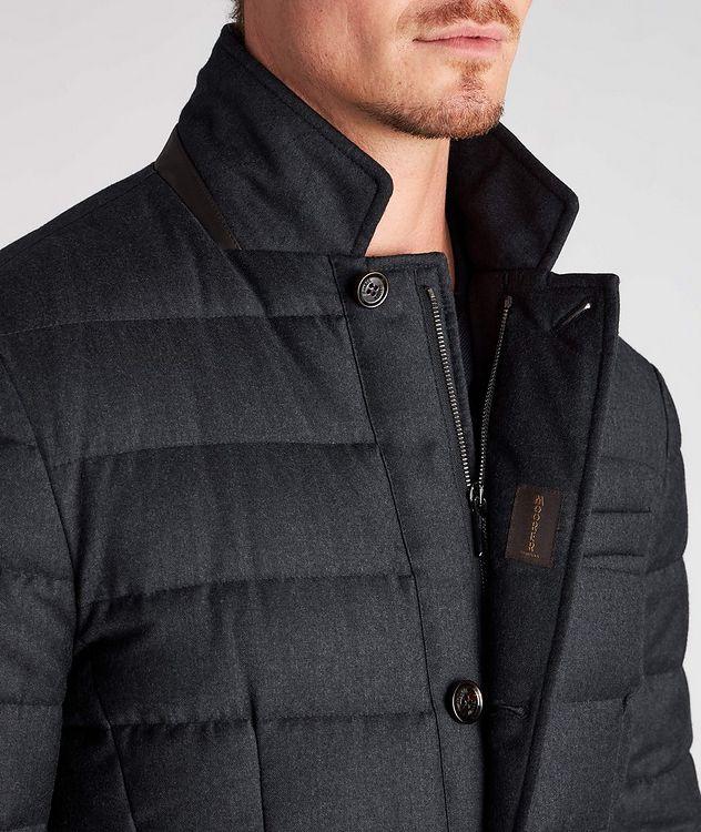 Zayn Wool-Cashmere Down Jacket picture 4