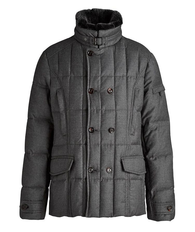 Siro Quilted Wool-Cashmere Jacket image 0