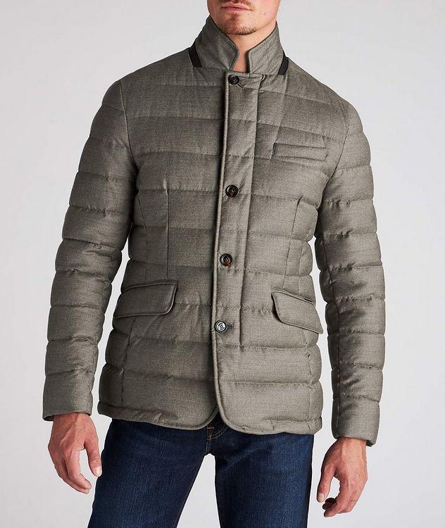 Zayn Wool-Cashmere Down Jacket picture 2
