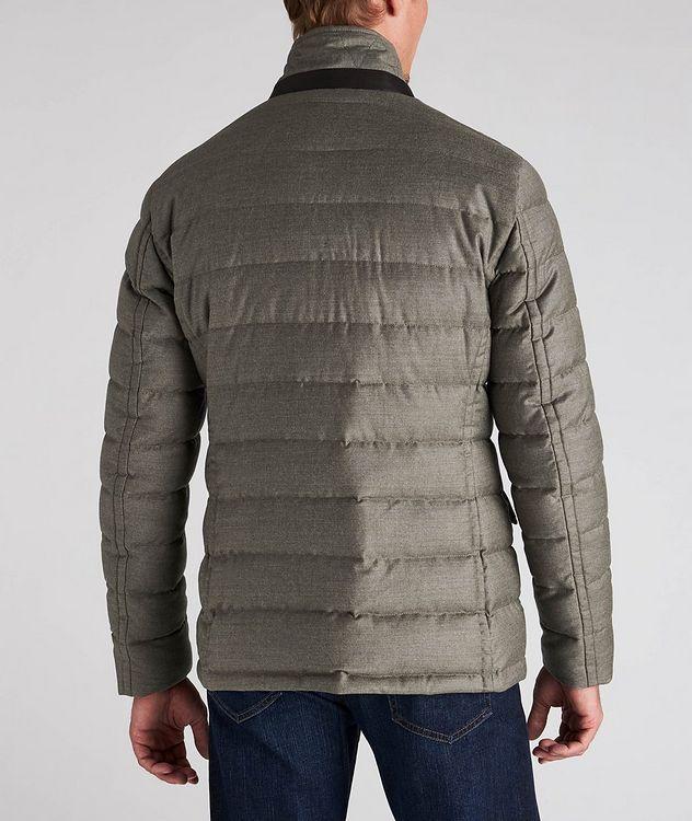Zayn Wool-Cashmere Down Jacket picture 3