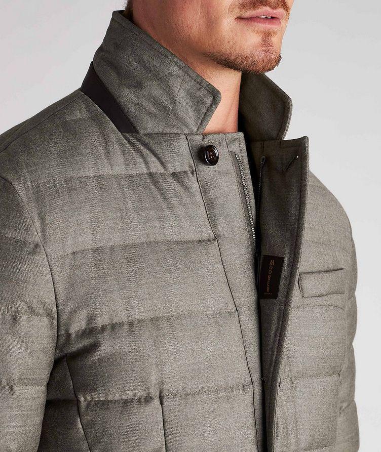 Zayn Wool-Cashmere Down Jacket image 3